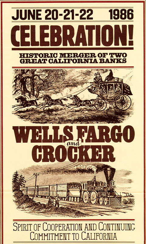 Crocker-Wells-Fargo-Merger-Poster-1986